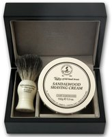 Taylor of Old Bond Street Sandalwood Gift Set in Wooden Box by