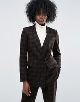 Asos Check Mansy Suit Jacket