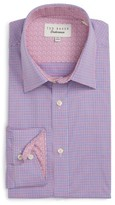 Ted Baker Men's Pacific Trim Fit Check Dress Shirt