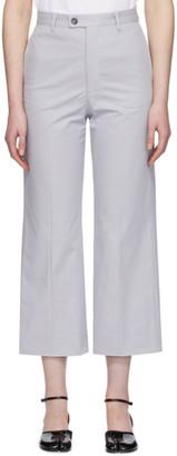 Maison Margiela Grey Cotton Sander Trousers