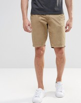 Blend of America Chino Shorts Straight Fit in Lead Gray