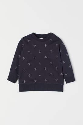 H&M Cotton Sweatshirt - Blue