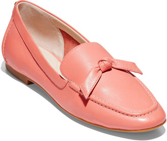 Cole Haan Caddie Bow Leather Loafer
