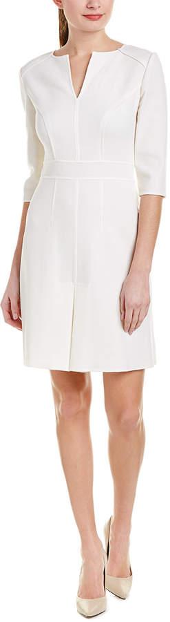 Carolina Herrera Wool Sheath Dress