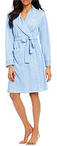 Lauren Ralph Lauren Gingham Shawl-Collar Robe