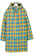 Marni checked coat