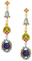 Gerard Yosca Garden Stone Drop Earrings
