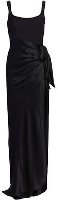 Cinq à Sept Marian Draped Gown
