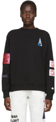Adidas Originals By Alexander Wang Black Flex2Club Sweatshirt