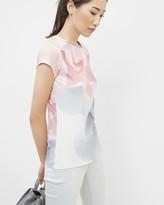 Ted Baker Porcelain Rose fitted T-shirt