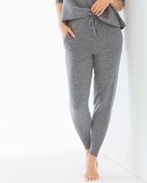 Soma Intimates Cashmere/Wool Blend Banded Bottom Pants