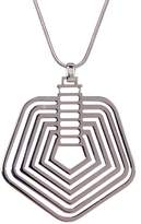 Trina Turk Multi-Line Pentagon Pendant Necklace