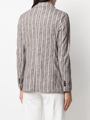 Circolo 1901 Pinstripe-Print Tailored Blazer