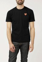 Comme des Garcons Classic Red Heart Patch Tee