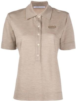 Agnona Cashmere Polo Shirt