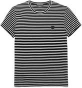 Alexander McQueen Slim-Fit Striped Cotton T-Shirt