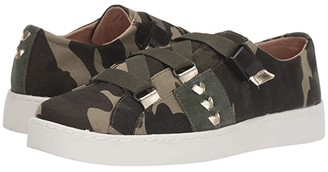Jack Rogers Warner Canvas Sneaker (Green Camo) Women's Shoes