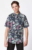 Ezekiel Rose Bowl Short Sleeve Button Up Shirt