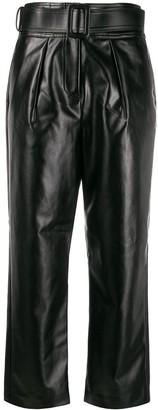 Self-Portrait Belted Waist Trousers