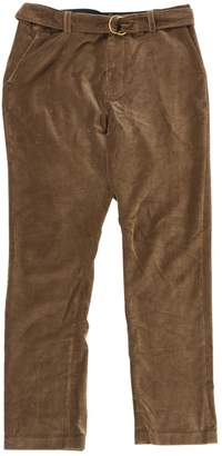 Laurence Dolige Brown Velvet Trousers for Women