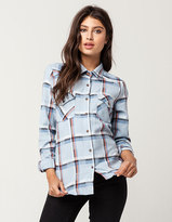 RVCA Jig 5 Womens Flannel Shirt