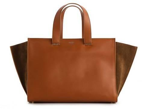Giorgio Armani Leather & Suede Shoulder Bag