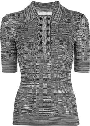 Proenza Schouler White Label Marl Knit Polo