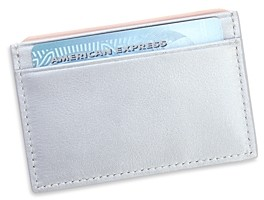 Royce New York Leather Rfid-Blocking Executive Slim Credit Card Case