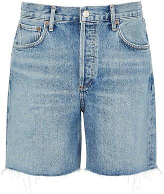 A Gold E Rumi blue denim shorts
