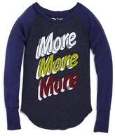 Rebel Yell Girls' More More More Tee - Sizes S-L