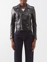 Thumbnail for your product : Saint Laurent Leather Biker Jacket - Black