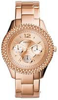 Fossil Women's ES3590 Stella Multifunction Stainless Steel Watch-Tone