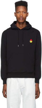 Ami Alexandre Mattiussi Black Smiley Edition Hoodie