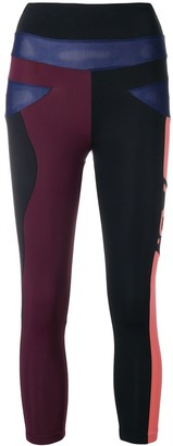 Angelys Balek Panelled Capri Leggings