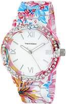 Vernier Women's VNR11168TRP Analog Display Japanese Quartz Multi-Color Watch