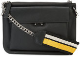Marni strap-detail shoulder bag - women - Leather - One Size
