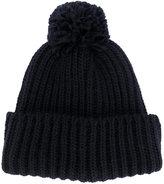 Federica Moretti ribbed knit beanie - women - Acrylic/Wool - One Size