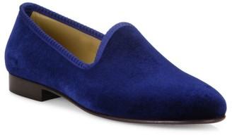 Del Toro Grosgrain-Accented Velvet Loafers