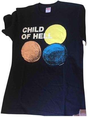 Supreme Blue Cotton T-shirts