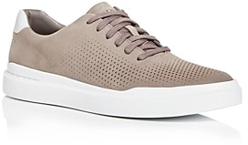 Cole Haan Men's GrandPro Rally Laser-Cut Leather Low-Top Sneakers