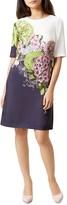 Hobbs London Cheryl Floral-Print Dress