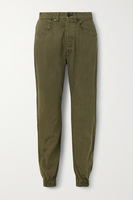 Rag & Bone Denim Track Pants - Army green