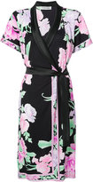 Leonard floral wrap dress - women - Silk - 38