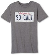 Los Angeles Local Pride by Todd Snyder Men's SO CALI License Plate Tee - Heather Gray