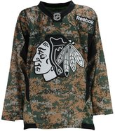 Reebok NHL Chicago Blackhawks Veterans Day Youth Size Jersey
