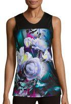 Nanette Lepore Floral Printed V-Neck Top