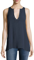 The Fifth Label Grommet-Trim Sleeveless Blouse