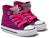 Converse Pink Shine Chuck Taylor Hi Top Trainers