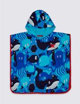 Marks and Spencer Pure Cotton Hooded Towel (3 Months - 7 Years)