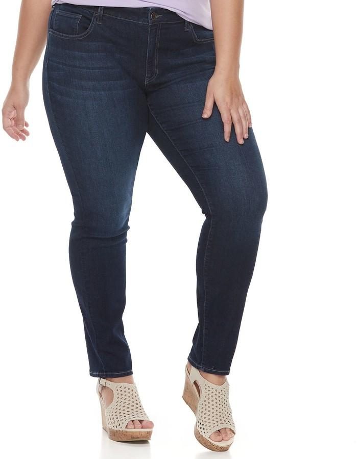 B7 KUT from the Kloth So Low 10 stretch dark denim cropped capri jeans Women's Clothing